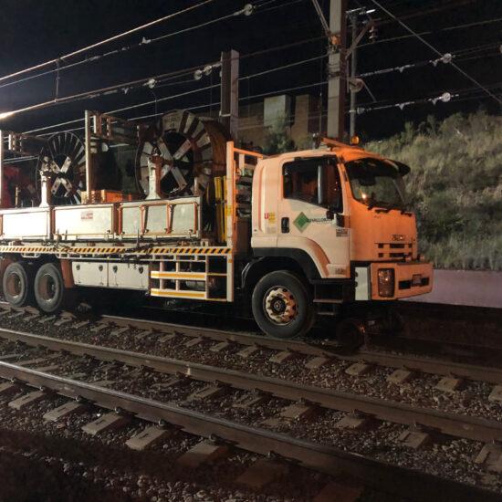 Hi Rail Crane Truck – Novo Rail 1